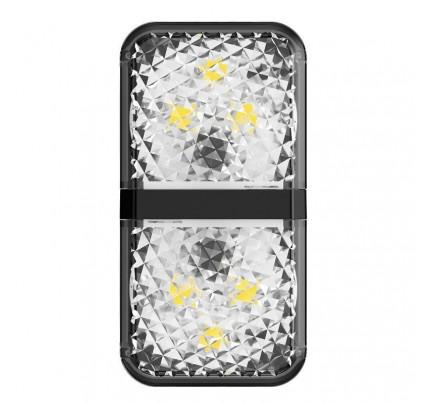 Baseus Car Door Led Warning Light Black CRFZD-01 (2pcs/pack)