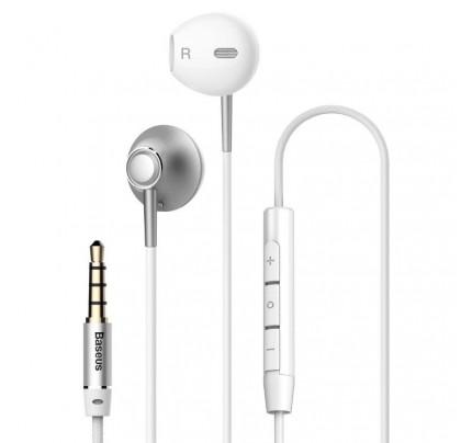 Baseus Encok H06 In-ear Handsfree με Βύσμα 3.5mm Silver NGH06-0S