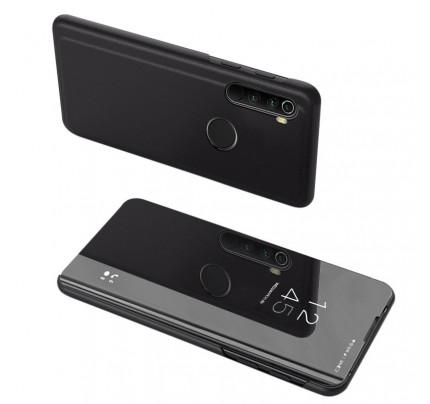 Θήκη OEM Clear View Standing Cover για Xiaomi Redmi Note 8T black