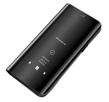 Θήκη OEM Clear View Standing Cover για Samsung Galaxy A10 black