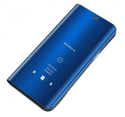 Θήκη OEM Clear View Standing Cover για Xiaomi Redmi Note 7 blue