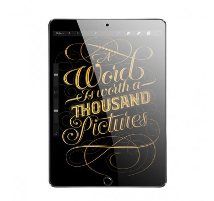 Dux Ducis All Tempered Glass Super Tough  Full Coveraged for iPad 9.7'' 2018 / iPad 9.7'' 2017 transparent