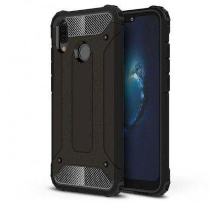 Θήκη OEM Hybrid Armor Back Cover για Huawei P20 Lite black