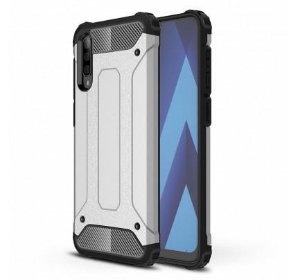 Θήκη OEM Hybrid Armor Tough Rugged Cover για Samsung Galaxy A50 silver