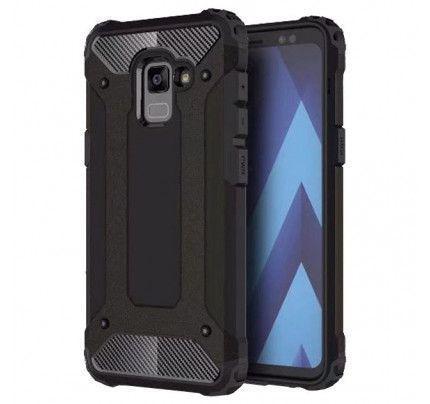 Θήκη OEM Hybrid Armor Back Cover για Samsung Galaxy A8 2018 A530 black