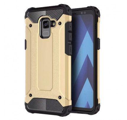 Θήκη OEM Hybrid Armor Back Cover για Samsung Galaxy A8 2018 A530 gold