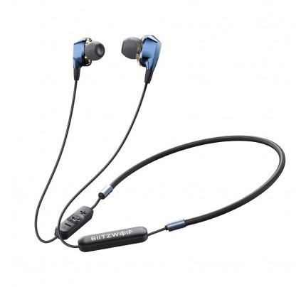 BlitzWolf Neckband Magnetic Sport Earphones BW-BTS4 blue