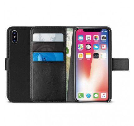 Θήκη PURO Booklet Wallet Case για iPhone XR black