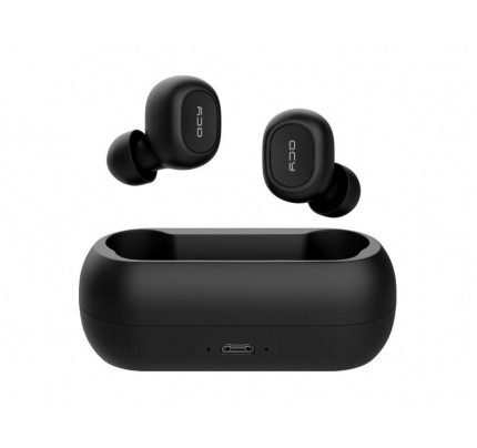 QCY T1 TWS Wireless bluetooth 5.0 earphones μαύρου χρώματος