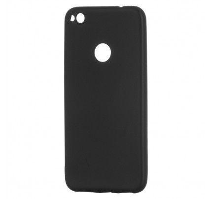 Θήκη TPU Soft Matt για Huawei P8 LITE 2017 / P9 Lite 2017 μαύρου χρώματος