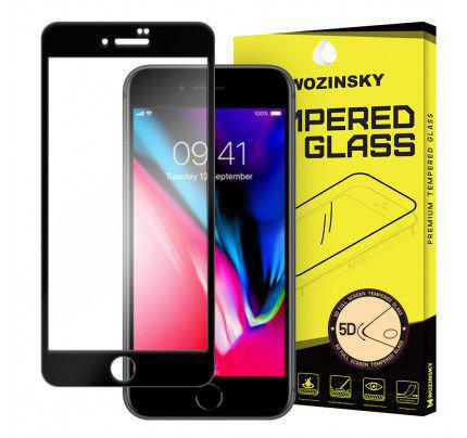 Tempered Glass PRO+ 5D Super Tough Screen Protector Πλήρους Κάλυψης με πλαίσιο για iPhone 8 Plus black