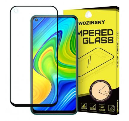Wozinsky Tempered Glass Full Glue Full Coveraged with Frame Case Friendly for Xiaomi Redmi 10X 4G / Xiaomi Redmi Note 9 black