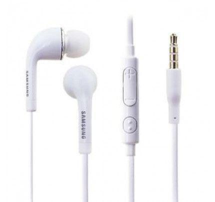 Samsung Headset EO-EG900BW Stereo for Galaxy S5 G900 White (χωρίς συσκευασία)