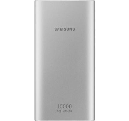 Samsung Original EB-P1100BSEGW Powerbank Micro USB Fast Charge10000mah silver