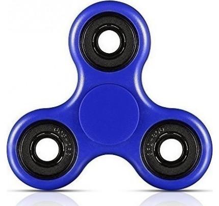 Fidget Spinner Anti Stress Plastic 2 minutes μπλε χρώματος