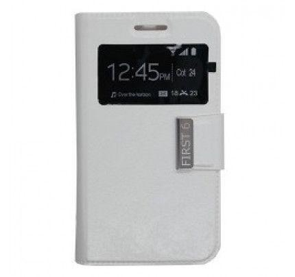 Θήκη Uni S-View για Vodafone Smart First 6 white