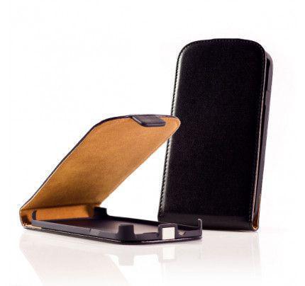 Θήκη Flip για Blackberry Z10 μαύρη