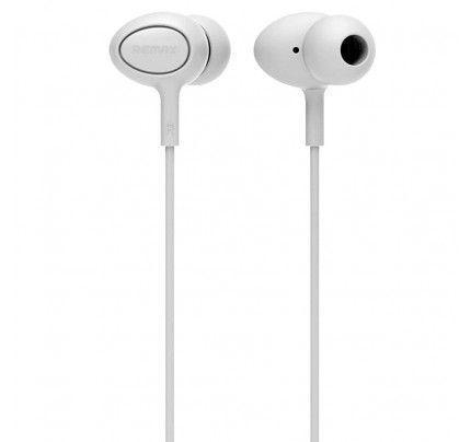 Ακουστικά Remax RM-515 3,5mm με μικρόφωνο λευκού χρώματος
