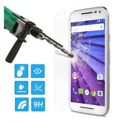 Φιλμ Προστασίας Οθόνης Tempered Glass (άθραυστο ) 9H για Motorola Moto G3