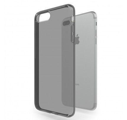 Θήκη TPU Ultra Slim 0,3mm για iPhone 7 Plus μαύρη διάφανη