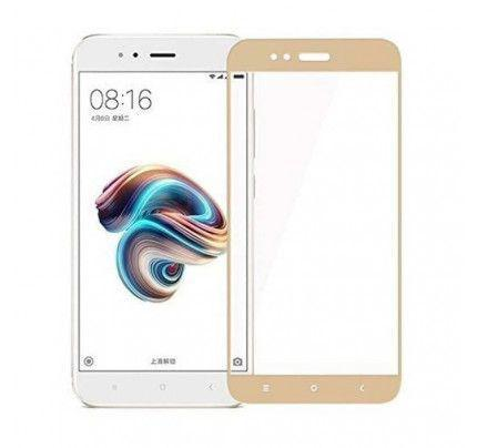 Tempered Glass Screen Protector Πλήρους Κάλυψης για Xiaomi Mi A1 / Mi 5X gold
