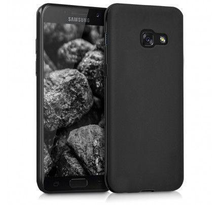 Θήκη TPU Ultra Slim Matt για Samsung Galaxy A5 2017 A520 μαύρου χρώματος