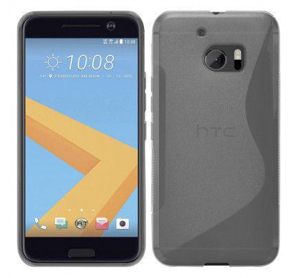 Θήκη TPU S-Line για HTC 10 διάφανη