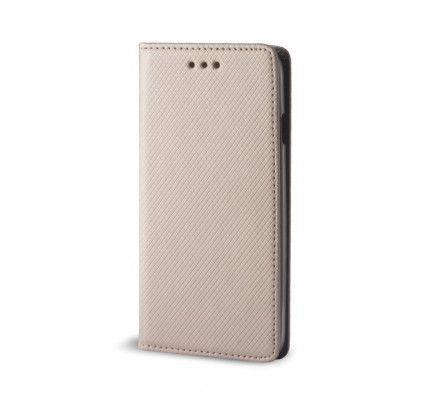 Θήκη OEM Smart Magnet για Huawei P10 Lite χρυσού χρώματος ( θήκη για κάρτα , stand )