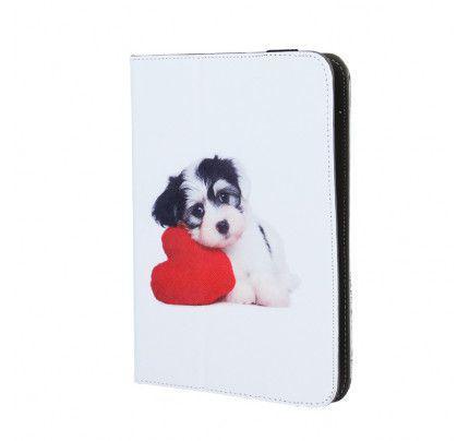 """Θήκη OEM Universal για Tablet 7""""-8""""  Puppy Heart"""