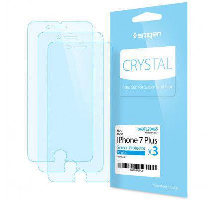 Spigen® Προστατευτική μεμβράνη οθόνης για iPhone 7 Plus / 8 Plus Crystal (3 ΤΕΜΑΧΙΑ )