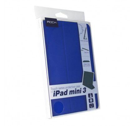 Θήκη Rock Flip Touch Series για Apple iPad Mini 3 blue