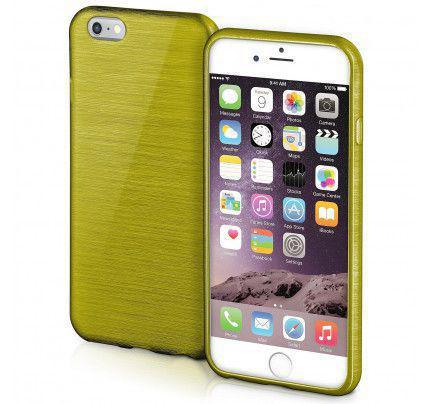 Θήκη Jelly Brush TPU για iPhone 6 / 6s Plus πράσινου χρώματος