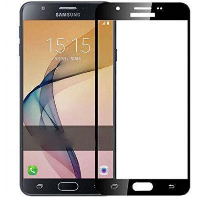 Φιλμ Προστασίας Οθόνης Tempered Glass (άθραυστο ) 9H για Samsung Galaxy J7 2016 J710 full face black