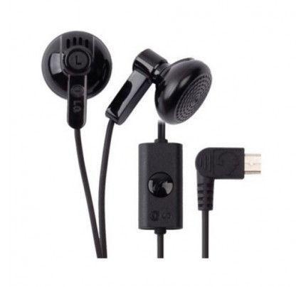 LG Headset  SGEY0003727 Micro-USB Black (χωρίς συσκευασία)