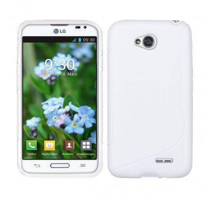 Θήκη TPU S-Line για LG L70/L65 D320 / D325 άσπρη