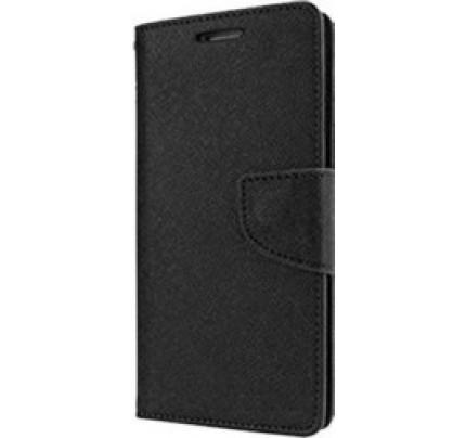 Θήκη OEM Fancy Diary για Samsung Galaxy A5 2017 μαύρου χρώματος