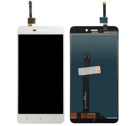 Οθόνη LCD με Μηχανισμό Αφής για Xiaomi Redmi 4A λευκή