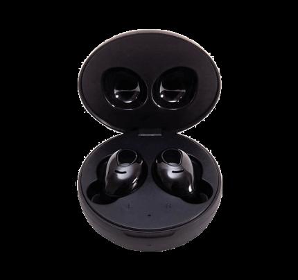 Ασύρματα ακουστικά LEDWOOD + θήκη φόρτισης i9 TWS Μαύρου χρώματος (3700789506683)