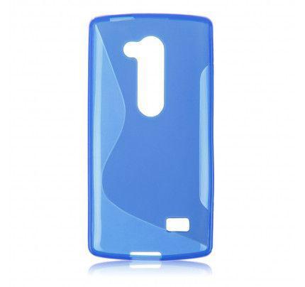 Θήκη TPU S-Line για LG Leon blue