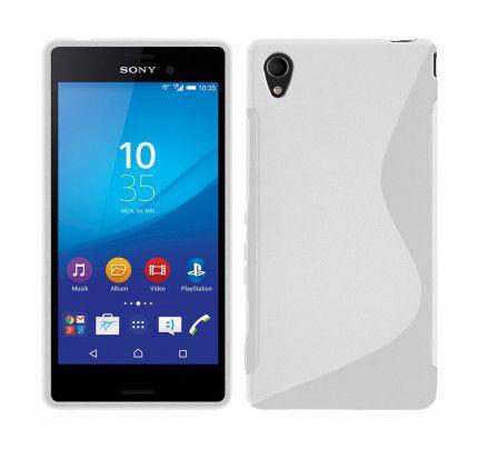 Θήκη TPU S-line για Sony Xperia M4 Aqua White