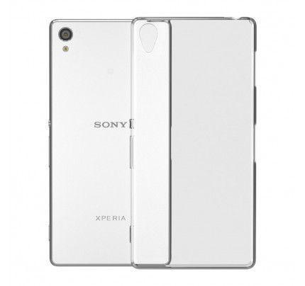 Θήκη TPU Ultra Slim για Sony Xperia M5 διάφανη