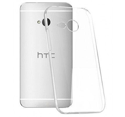 Θήκη TPU Ultra Slim 0,3mm για HTC One M8 διάφανη