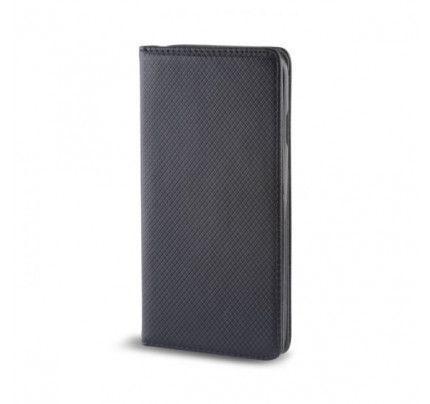 Θήκη OEM Smart Magnet για Huawei Honor 9 Lite μαύρου χρώματος (stand ,θήκη για κάρτα )