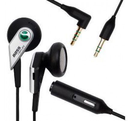 Sony Ericsson Headset MH500 Stereo black (χωρίς συσκευασία)