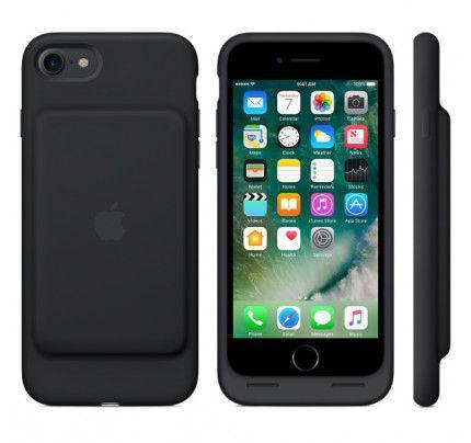 Apple Original MN002ZM/A Smart Battery Case για iPhone 7 μαύρου χρώματος blister