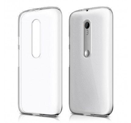 Θήκη TPU Ultra Slim για Motorola Moto G3 διάφανη