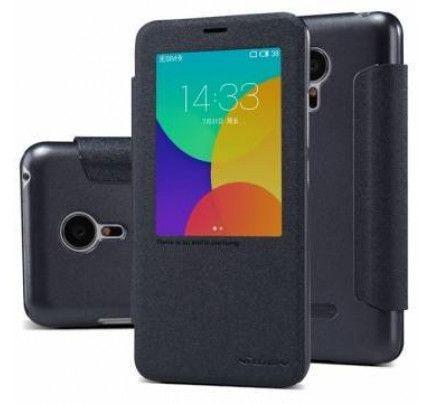Θήκη Nillkin Sparkle S-View για Meizu MX5 black
