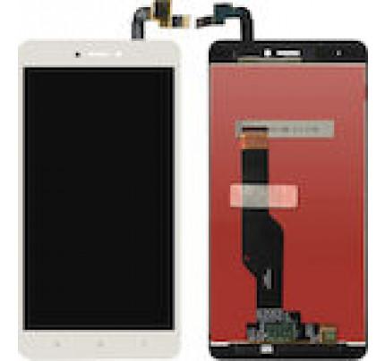 Οθόνη LCD με Μηχανισμό Αφής για Xiaomi Redmi Note 4X λευκή