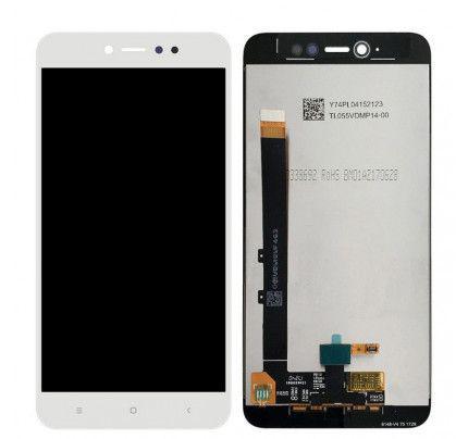 Οθόνη LCD με Μηχανισμό Αφής για Xiaomi Redmi Note 5A white