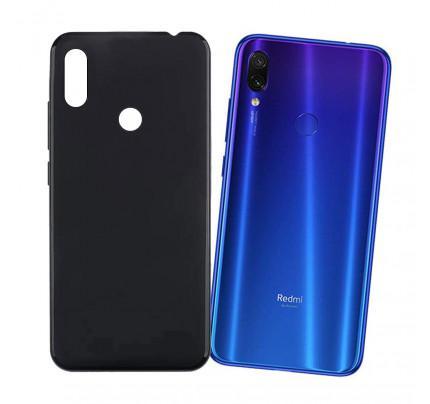 Θήκη OEM TPU Slim για Xiaomi Redmi Note 7 μαύρου χρώματος